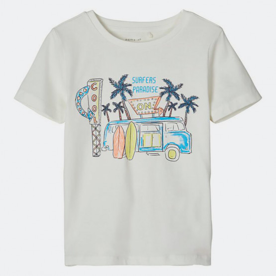 Name it Kids' T-Shirt Male Knit Oco95/Ea5