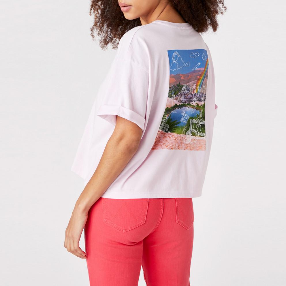 Wrangler Summer Woman Tee Lilac Ice