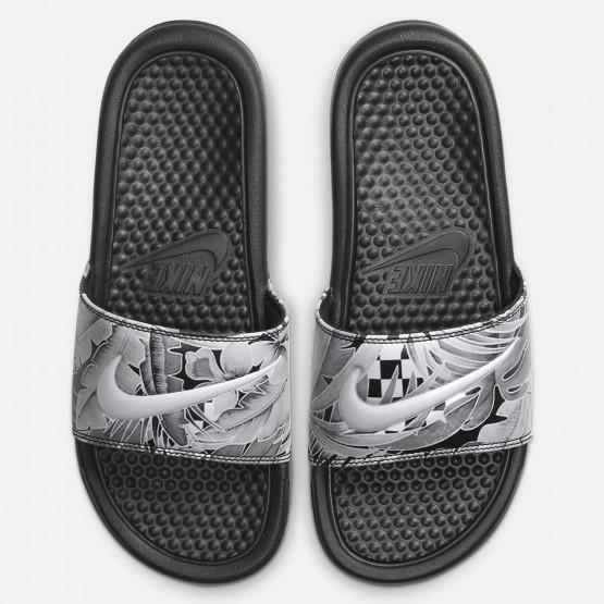 Nike Benassi Jdi Print Γυναικείες Παντόφλες