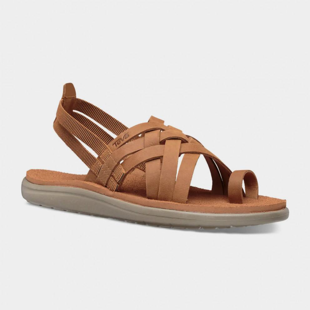 Teva Voya Strappy Leather Woman Sandals