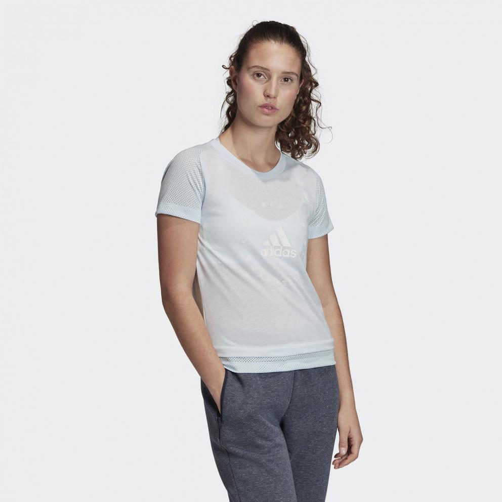 Adidas Performance Slim Graphic Tee Women's Tee