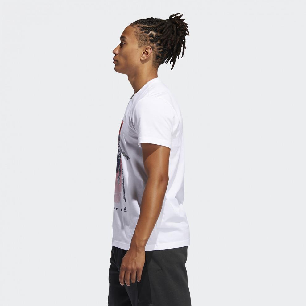 Adidas Donovan Geek Up Ανδρικά T-shirt