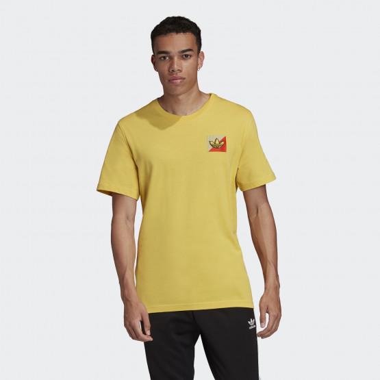 adidas Originals Diagonal Embroidered Ανδρικό Μπλουζάκι