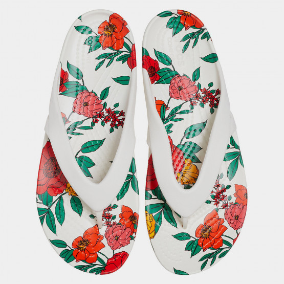 Crocs Kadee II Printed Floral Flip Γυναικείες Σαγιονάρες