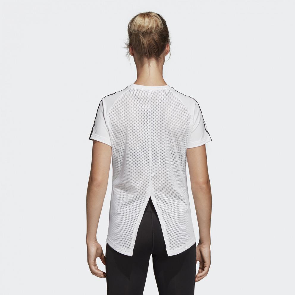 adidas Performance Design 2 Move 3-Stripes Γυναικεία Μπλούζα