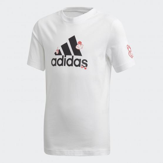 adidas Collegiate T-Shirt Παιδικό Μπλουζάκι