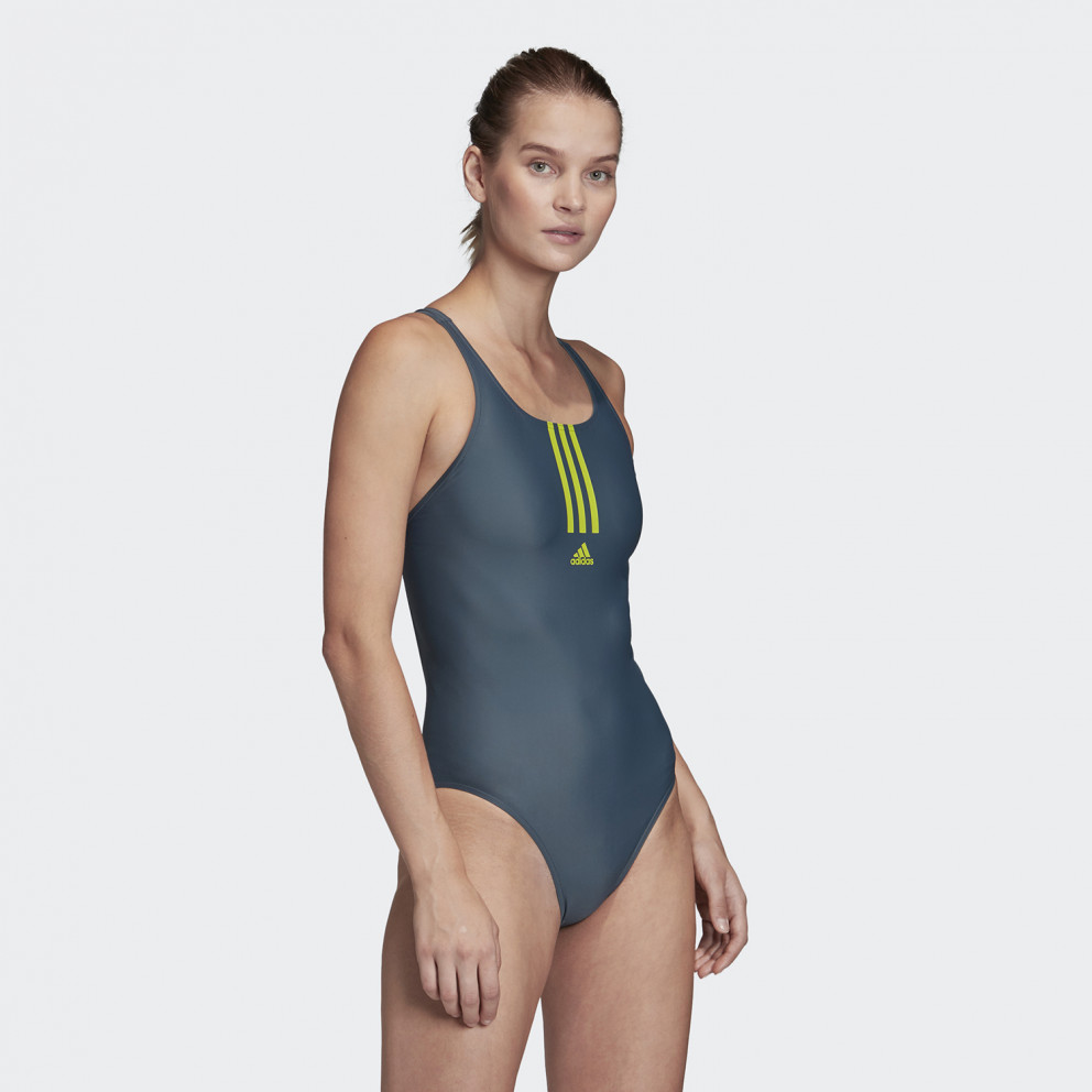 adidas Performance Sh3.Ro Mid 3-Strippes One- Piece Women's Swuimsuit