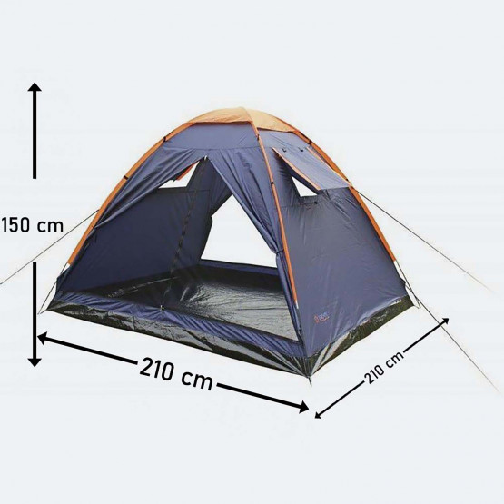 Escape Trail Iii Camping Tent Fits 3 People