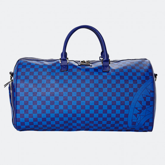 Sprayground Sharks In Paris Duffle: Royal Blue