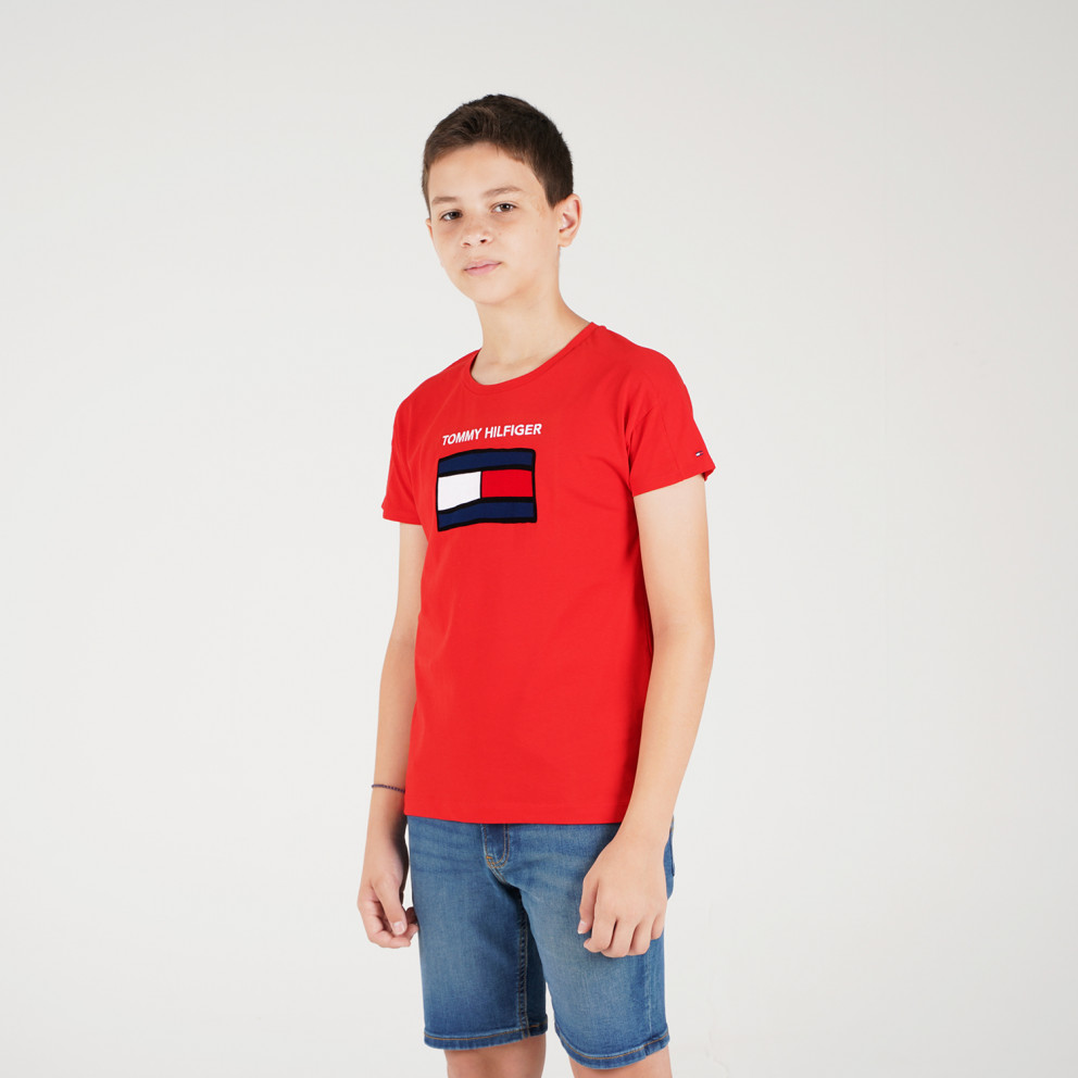 Tommy Jeans FUN GRAPHIC FLAG TEE S/S