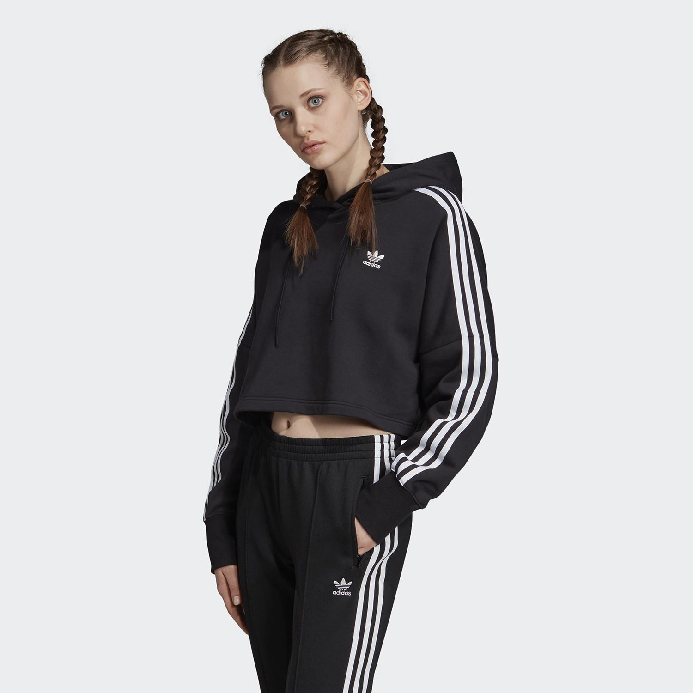 adidas Originals Γυναικείo Crop Top με Κουκούλα (9000031693_1469)