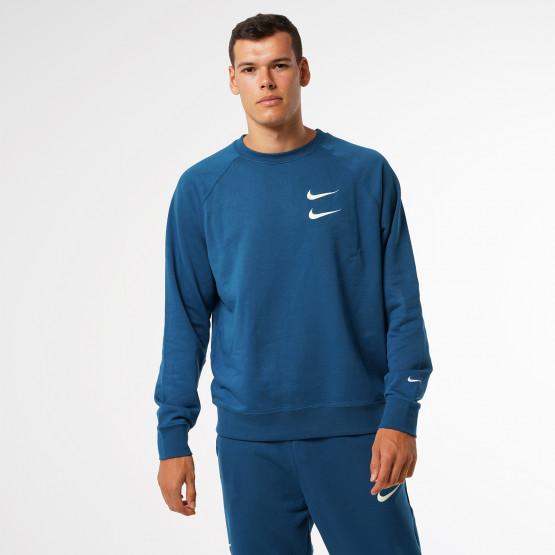 Nike Sportswear Swoosh Ανδρικό French Terry Φούτερ