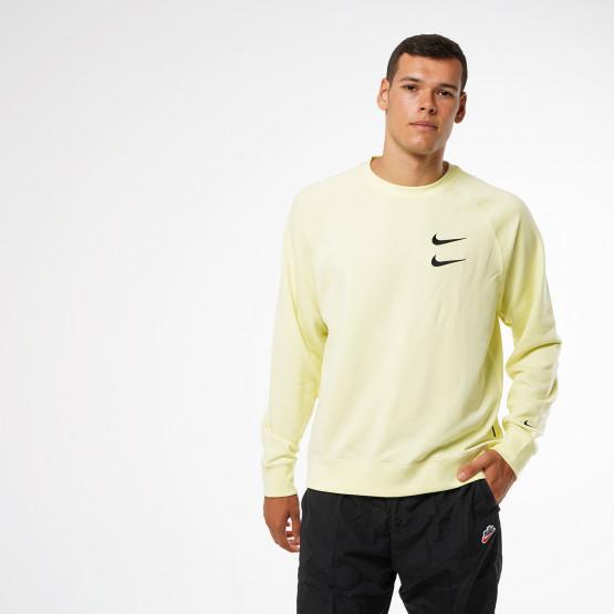 Nike Sportswear Swoosh Men's French Terry Crew