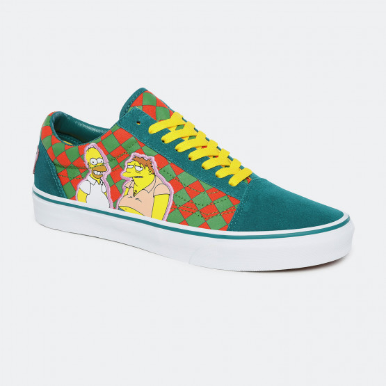 Vans x The Simpsons Ua Old Skool Γυναικεία Παπούτσια