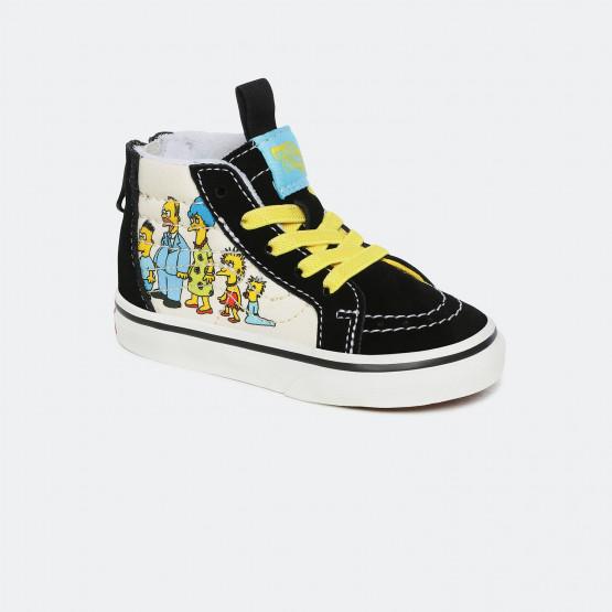 Vans x The Simpsons Ua Sk8-Hi Toddler's Shoes