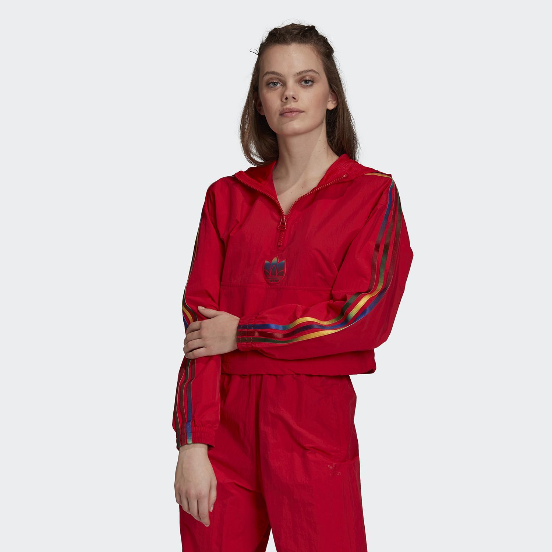 adidas Originals Cropped Halfzip Γυναικείο Crop Top (9000058924_10260)