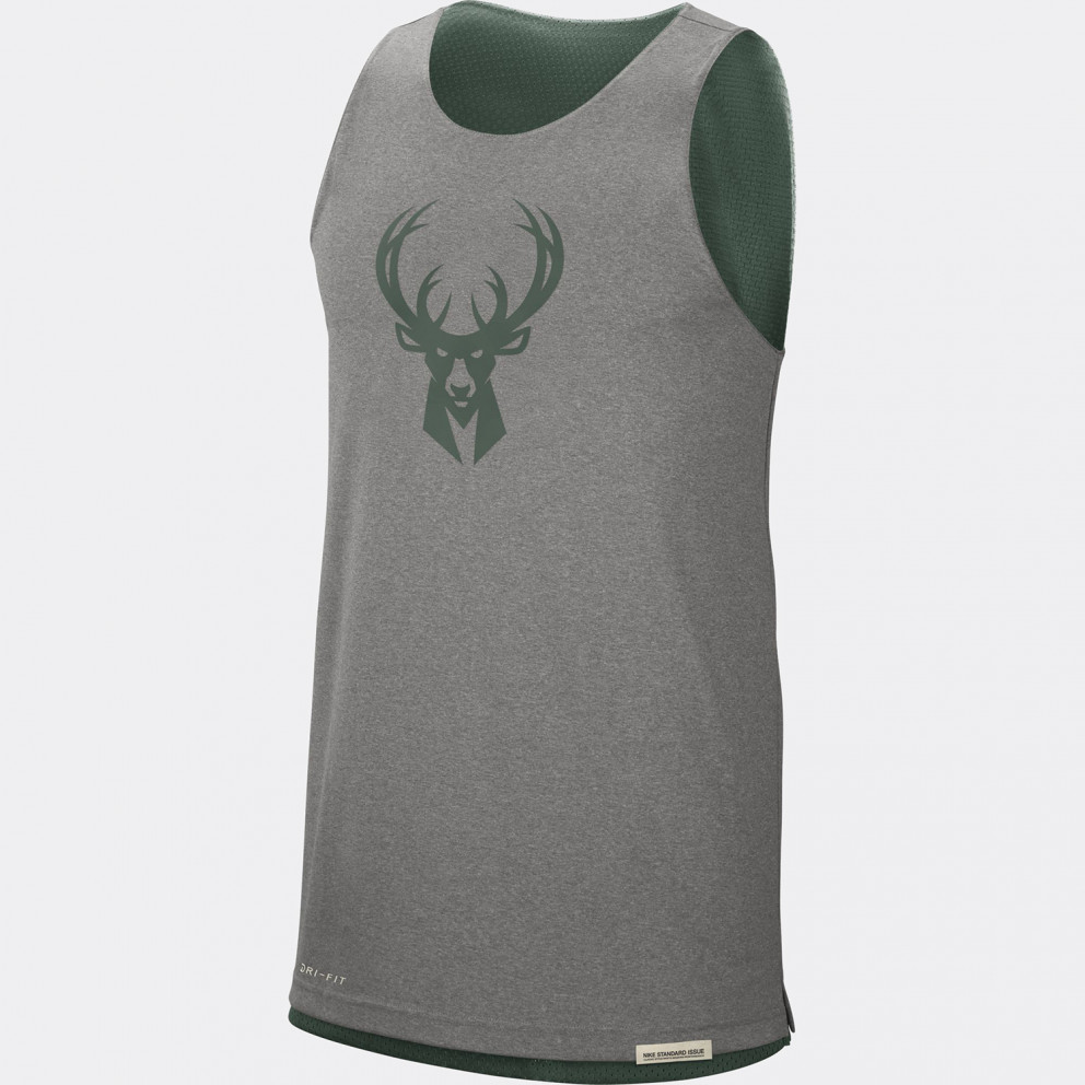 Nike NBA Milwaukee Bucks Standard Issue Courtside Men's Tank
