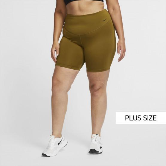 Nike One 7/8 Plus Size Γυναικείο Ποδηλατικό Σορτς