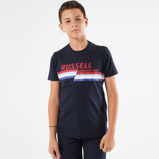 Russell Split Graphic Tee
