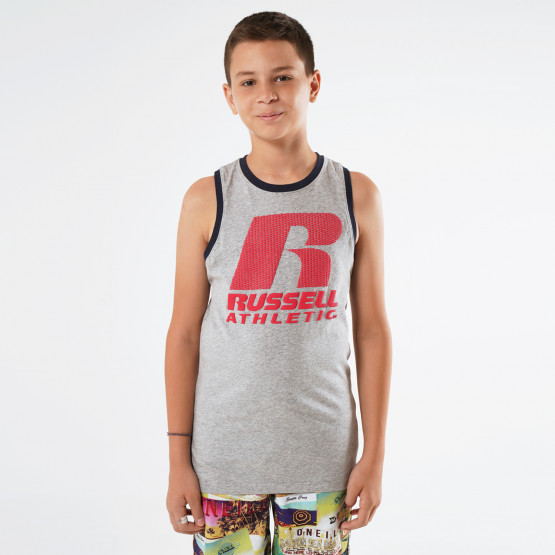 Russell Athletic Logo Παιδική Αμάνικη Μπλούζα