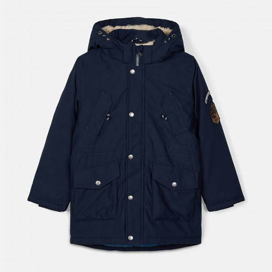 Name it Kid's Parka Coat with Removable Hood