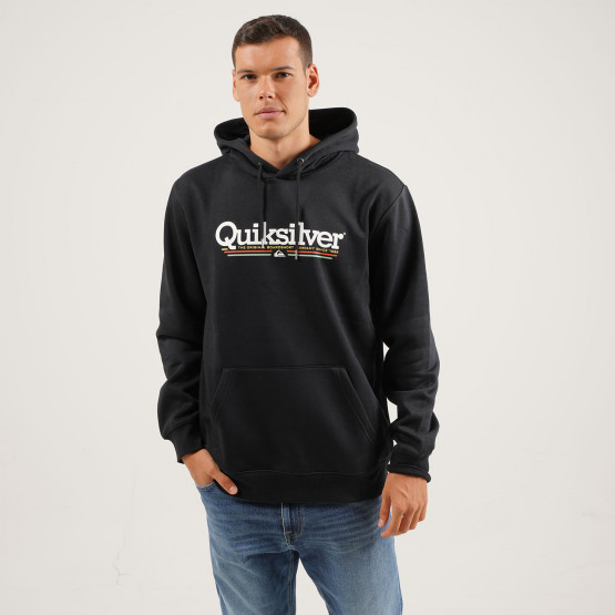 Quiksilver Tropical Lines Ανδρική Μπλούζα με Κουκούλα