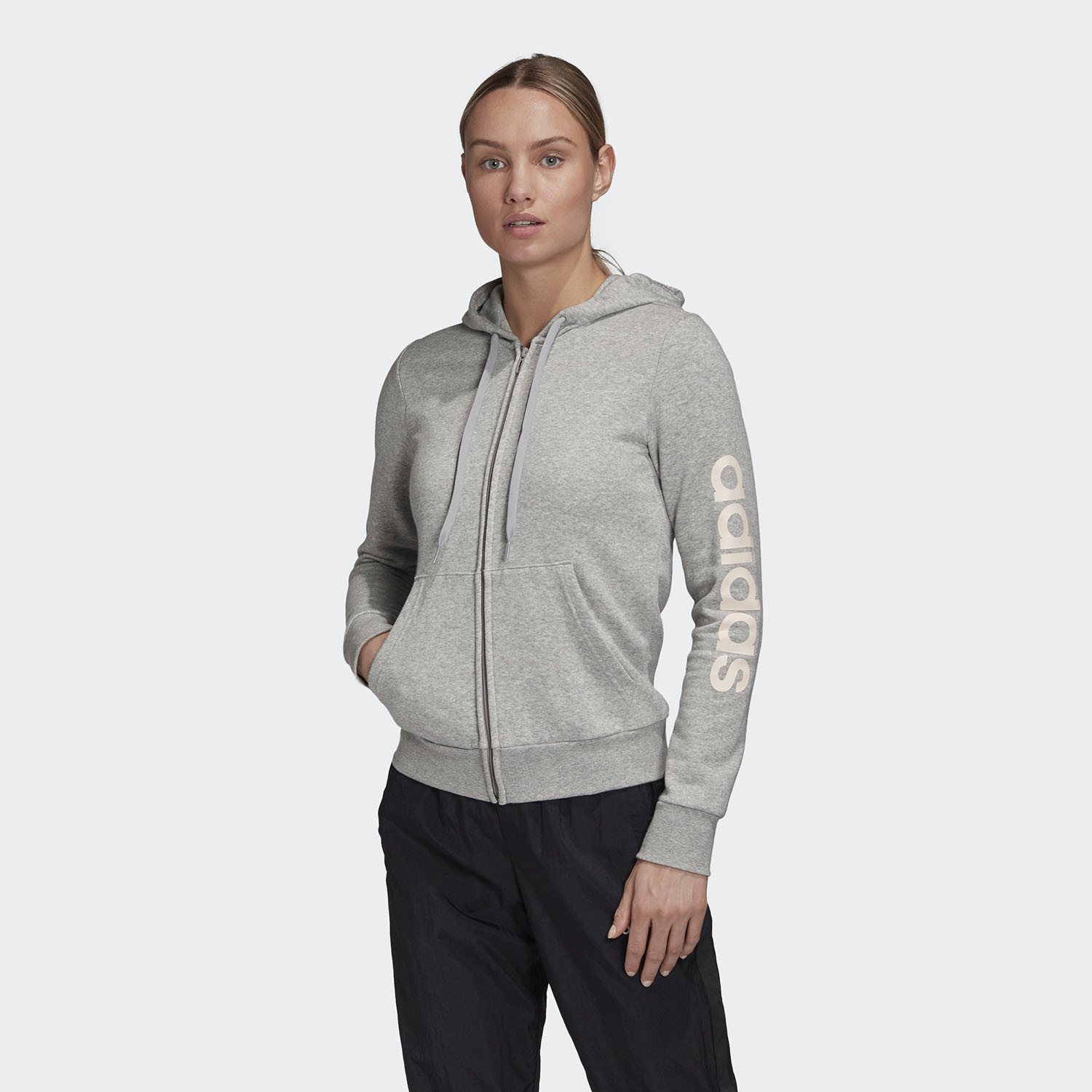 adidas Performance Essentials Linear Γυναικεία Ζακέτα (9000058773_47271)