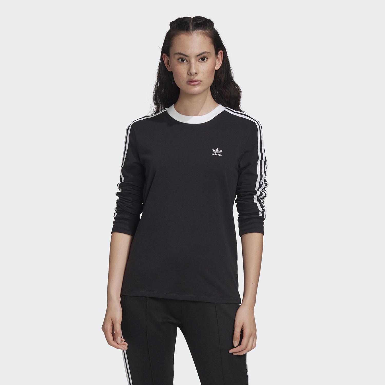 adidas Originals 3-Stripes Γυναικεία Μπλούζα (9000058456_1480)