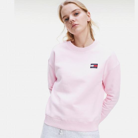 Tommy Jeans Badge Crew Γυναικείο Sweatshirt