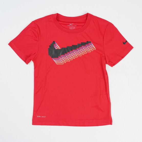 Nike Swoosh Pixel Παιδική Κοντομάνικη Μπλούζα