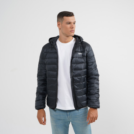 Body Action Men Padded Jacket With Hood