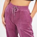 Body Action Γυναικείο Βελούδινο Παντελόνι Φόρμας
