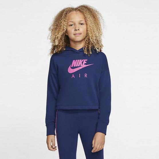Nike Air Kids' Cropped Hoodie