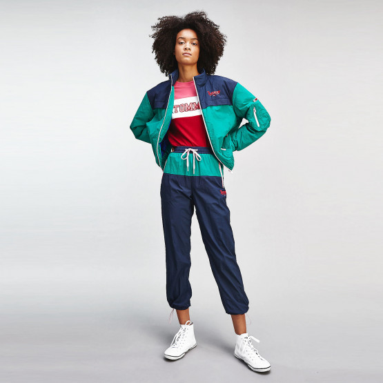 Tommy Jeans Colour-Blocked Joggers Γυναικείο Παντελόνι