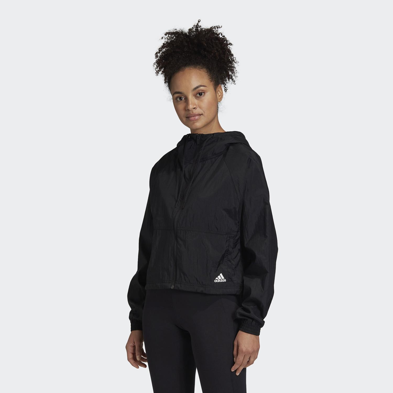 adidas Badge of Sport Woven Jacket Γυναικείο Αντιανεμικό Μπουφάν (9000058960_1469)