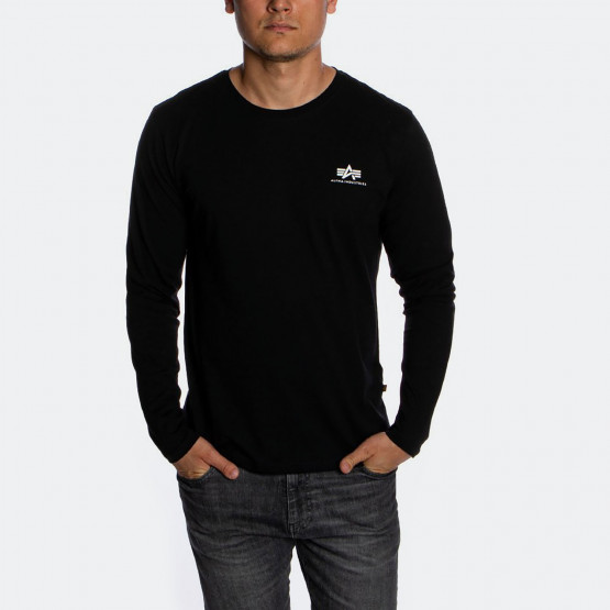 Alpha Industries Basic Small Logo Men's Long-Sleeve Shirt
