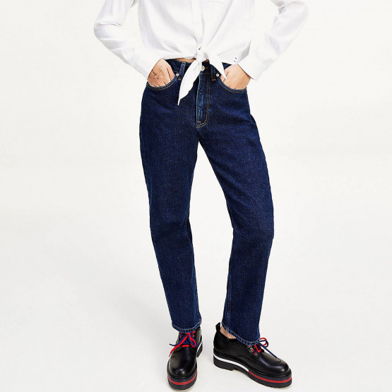 Tommy Jeans Harper High Rise Straight Γυναικείο Jeans