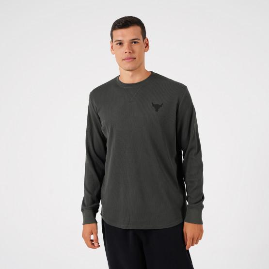 Under Armour Project Rock Waffle Crew Men's Long-Sleeve Shirt