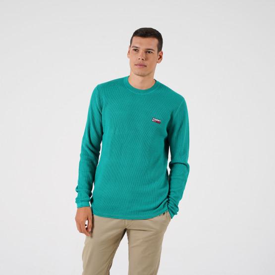 Tommy Jeans Corp Logo Ανδρική Πλεκτή Μπλούζα