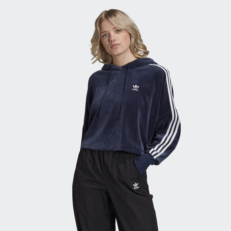 adidas Originals Cropped Velour Γυναικείο Φούτερ (9000058844_7659)