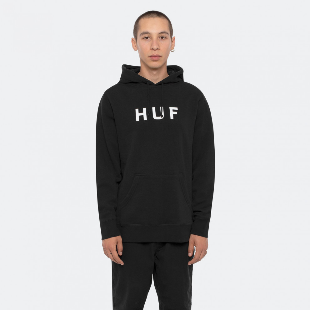 Huf Essentials Logo Men's Hoodie