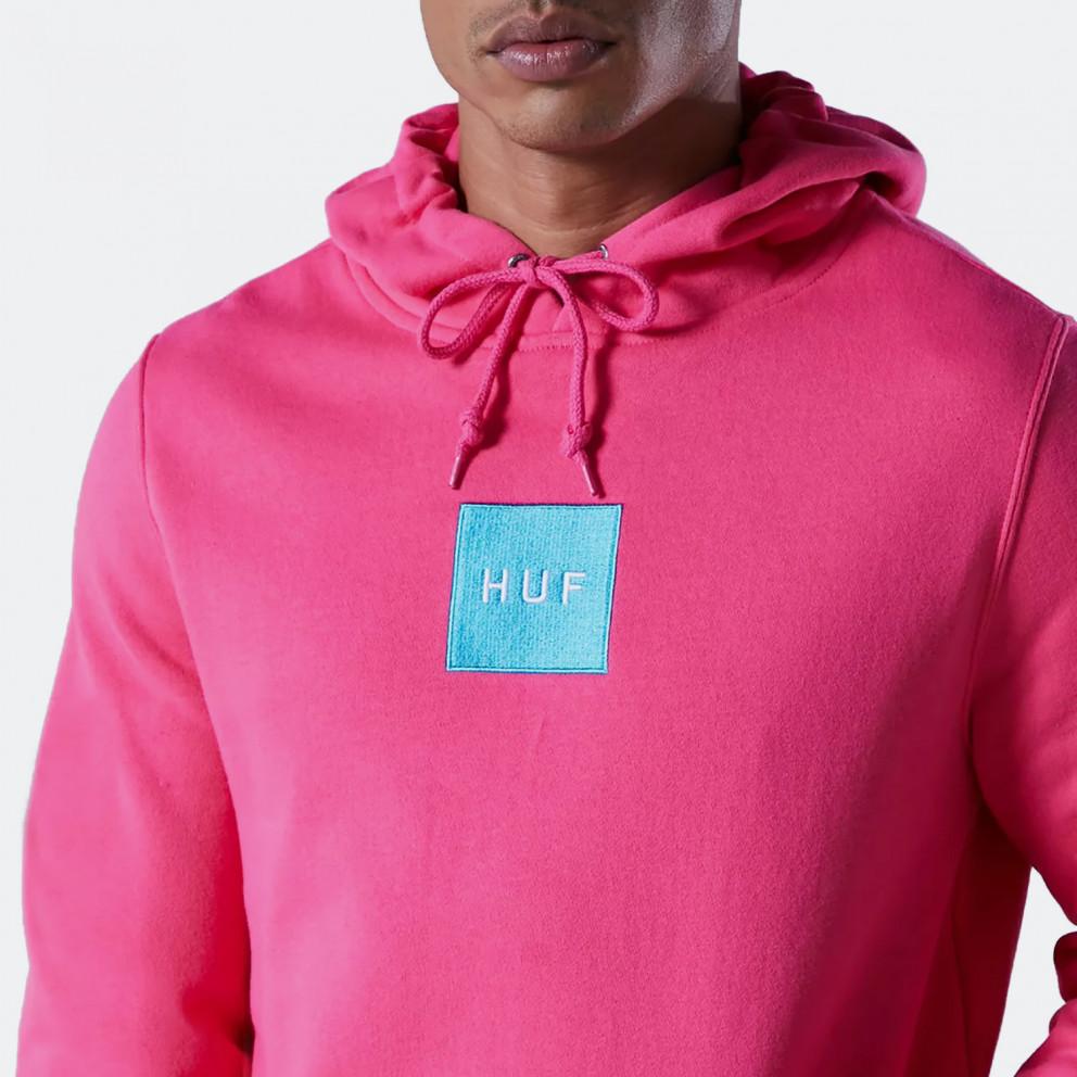 Huf Box Logo Ανδρική Μπλούζα με Κουκούλα