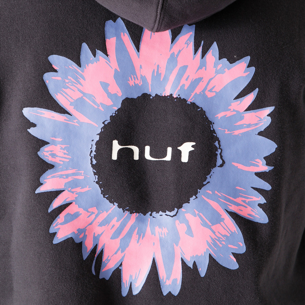 Huf Peaking Logo Ανδρική Μπλούζα με Κουκούλα