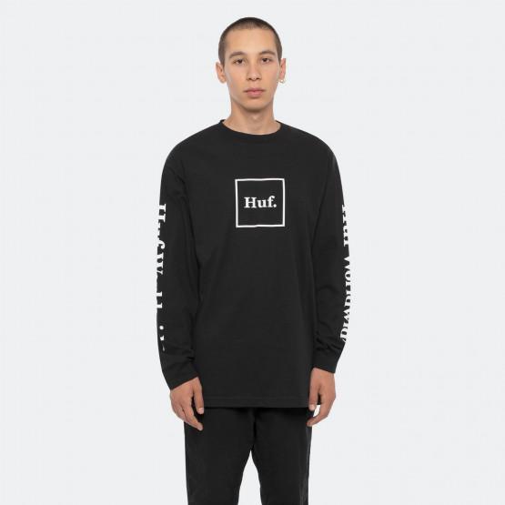 Huf Essentials Domestic Ανδρική Μακρυμάνικη Μπλούζα
