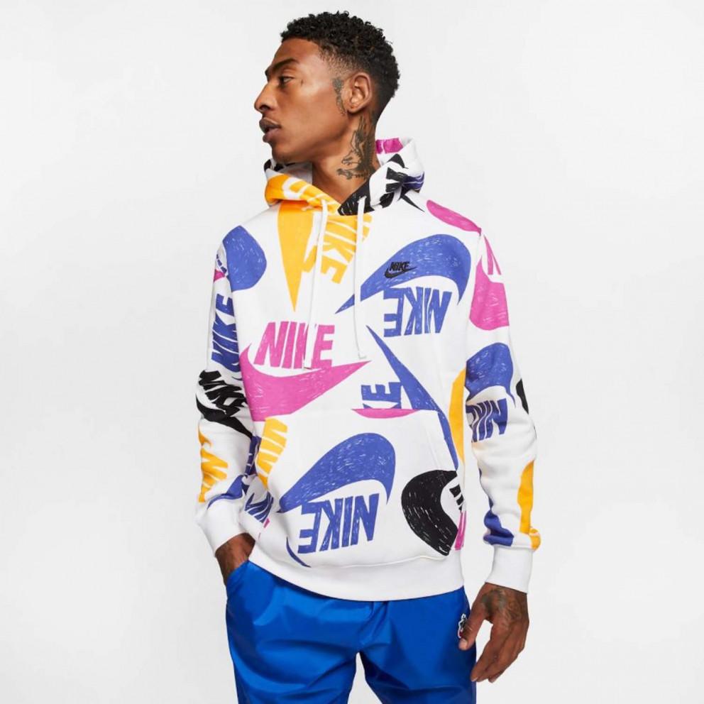 Nike M Nsw Club Hoodie Po Bb Aop 1