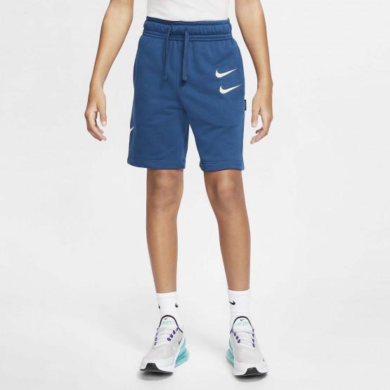 Nike Sportswear Swoosh French Terry Kids' Shorts