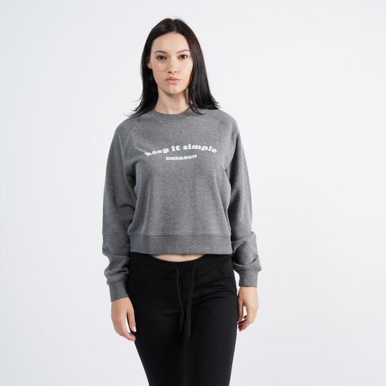 Emerson Keep It Simple Womens' Sweatshirt