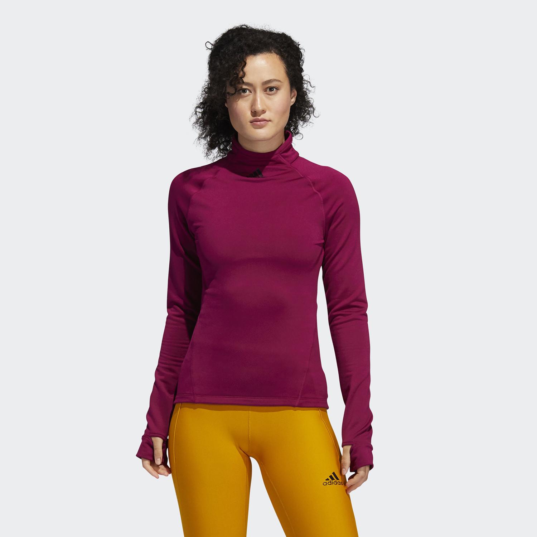 adidas Performance COLD.RDY Mock-Neck Γυναικεία Μπλούζα με Μακρύ Μανίκι για Προπόνηση (9000059024_47253)