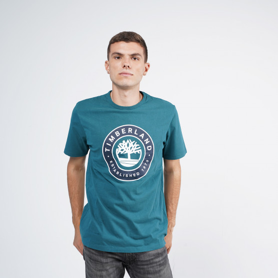 Timberland Little Cold River Tree Logo Men's T-Shirt