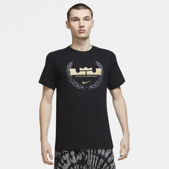 Nike LeBron James Logo Dry-FIT Ανδρικό T-Shirt